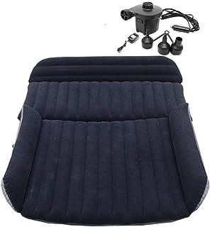 Berocia SUV Air Mattress, Thickened Car Bed Inflatable Home Air Mattress Portable Camping Outdoor Mattress, Flocking Surfa...