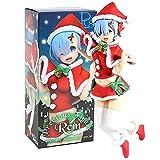YSDSPTG Action Figure Anime Un Mondo Diverso da Zero REM RAM Vestiti di Natale Inverno Ver.PVC Action Figure Collection Model Toys Bambola (Color : Box)