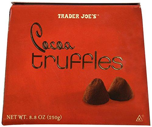 Trader Joes Cocoa Truffles....8.8 Oz. Box