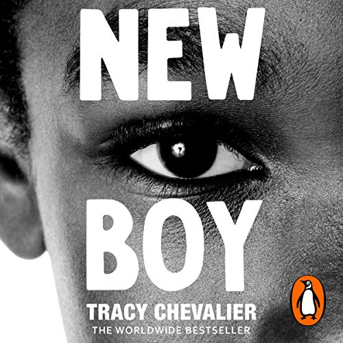 New Boy     Othello Retold (Hogarth Shakespeare)              By:                                                                                                                                 Tracy Chevalier                               Narrated by:                                                                                                                                 Prentice Onayemi                      Length: 5 hrs and 23 mins     12 ratings     Overall 4.6