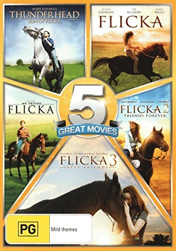 Flicka 1, 2 & 3 / My Friend Flicka / Thunderhead Son of Flicka | 5 Discs | NON-USA Format | PAL | Region 4 Import - Australia