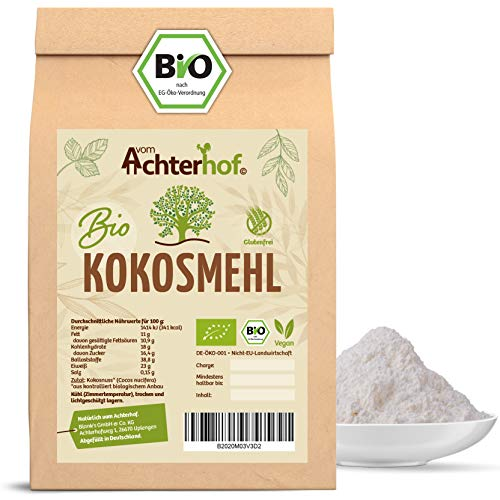 Bio Kokosmehl | 250g | Low Carb Mehl | ballaststoffreich | reich an Proteinen | direkt vom Achterhof