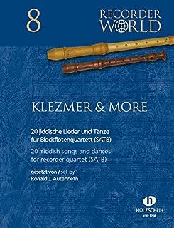 KLEZMER + MORE - Arreglos para cuarteto de flauta dulce [Notas/partitura]