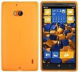 mumbi Schutzhülle für Nokia Lumia 930 Hülle transparent orange