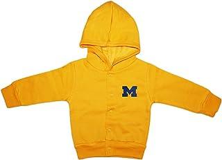 353b2cdea1a University of Michigan Wolverines Block M Newborn Baby Snap Hooded Jacket