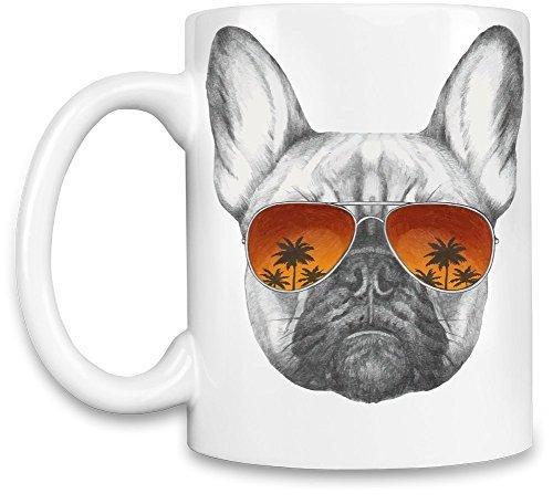 Funny Coffee Mugs Cool french bulldog Unique Coffee Mug 11Oz