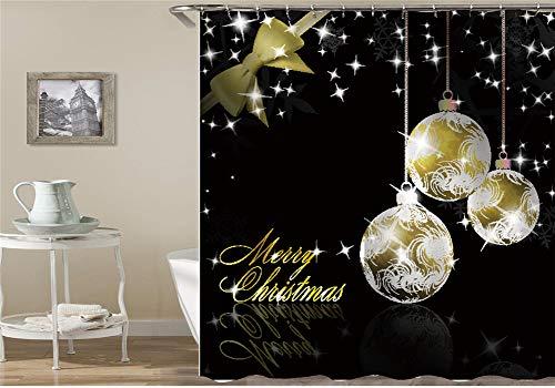 ZZZdz Plantendecoratie. Waterval Lantaarn Kerstmis Seagull Leeuw. Douchegordijn. Waterdicht. Eenvoudig te reinigen. 180 x 180 cm.