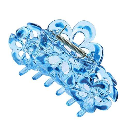 Bodhi2000 ® Femme Fille Cheveux Claw Clamp Clip Queue de cheval support solide Barrettes Uni Coiffe