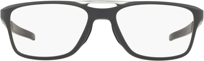 Oakley Max 73% OFF Men's Ox8113 Gauge mart 7.2 Eyeglass Prescription Arch Square