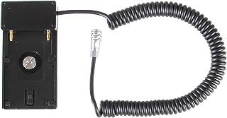 12 V NPF batería Soporte Base Soporte Soporte Adaptador Placa para Blackmagic Pocket Cinema 4K Cámara BMPCC 4 K cámaras Compatible con Sony NP-F970 F960 F770 F750 F570 F550 batería