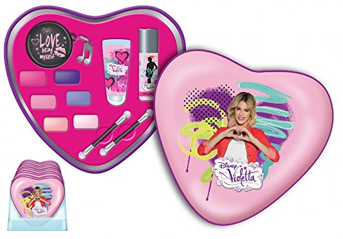 Disney 's Violetta – Coffret cadeau cosmétique motif cœur.