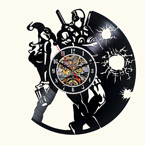 515oE2+mBEL Harley Quinn Clocks