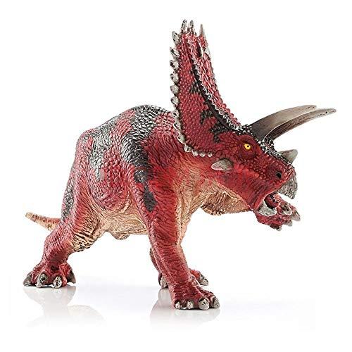 Pentaceratops Dinosaurier Dschungeltiere Figuren PVC Mini Tiere Spielzeug Waldtiere Miniatur 7,5 Zoll