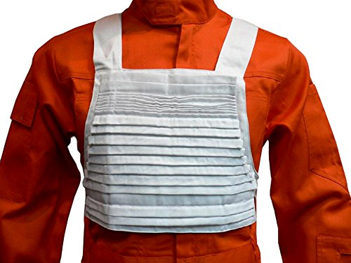 X-Wing Rebel Fighter Pilot White Flak Vest Only Star Wars Costumes - Wei� - X-Groß