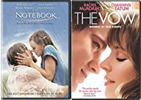 The Notebook + The Vow True Story Romance Movie DVD Set Double Love Twice as Much