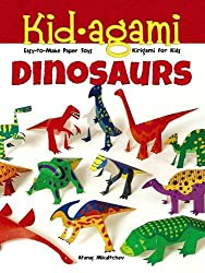 6. Kid-agami — Dinosaurs: Kirigami for Kids: Easy-to-Make Paper Toys (Dover Children's Activity Books)