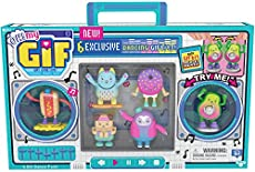 OH! MY GIF Moving Collectibles Toy with 6 Exclusive Dancing GIFbits, Multicolor (24116)