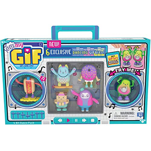 Oh My Gif Figuras animadas - Paquete de 6 bits