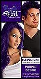Splat | Purple Desire | Original Complete Purple Hair Dye Kit | Semi Permanent | Vegan | 30 Wash