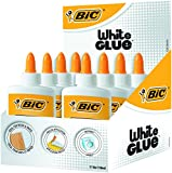 BIC Pegamento Líquido White Glue - 118 ml, Caja de 8