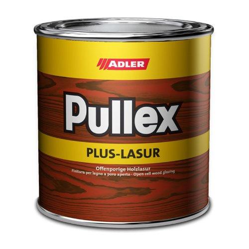 ADLER Pullex Plus-Lasur - Holzlasur Außen Farblos - Universell einsetzbare & aromatenfreie Holzschutzlasur als perfekter UV- & Wetterschutz - 750 ml Farblos/Transparent