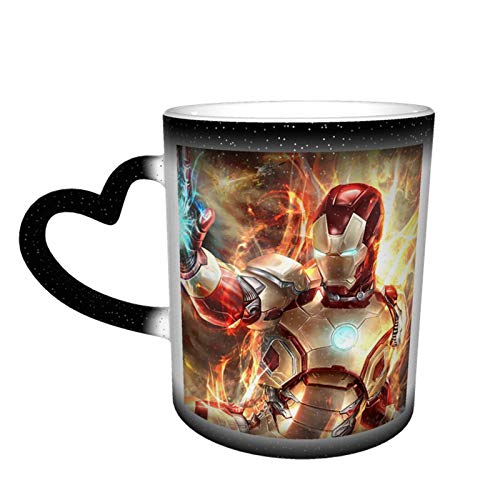 Hulk IRO-n Man - Taza de té de cerámica con diseño de hombre