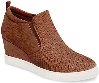 Women's Platform Wedge Sneakers Fashion High Top Wedge...