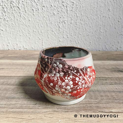 Sanbao Studio Ceramic Decals Cherry Flower 2 Black
