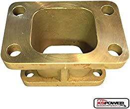 XS-Power T3 to T25 T28 Turbo Charger Turbo Manifold Flange Adapter Conversion T3/T4 GT35
