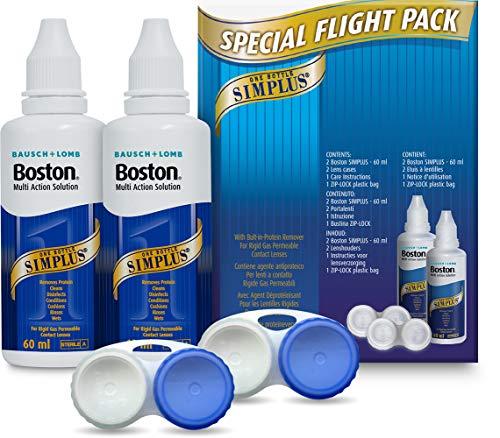 Bausch + Lomb Boston Simplus verschiedene Leuchteinstellungen möglich Lösung Flight Pack