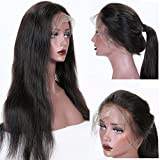 Best Full Lace Wigs - KUN Hair 360 Lace Wigs Natural Straight Brazilian Review