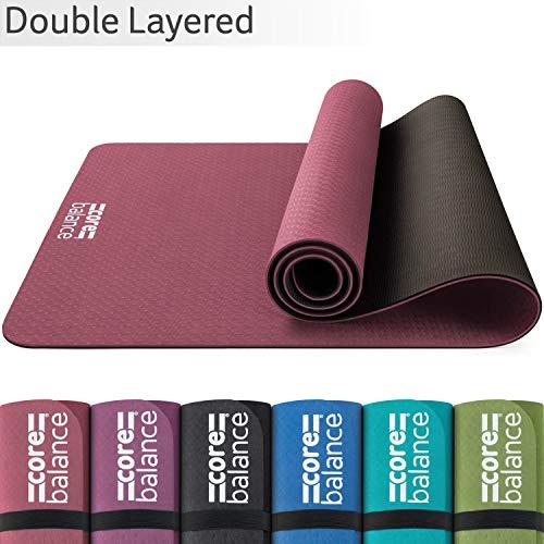 Eco Friendly iuga /& SGS certifié TPE Non Slip Violet Tapis de yoga avec sangle de transport