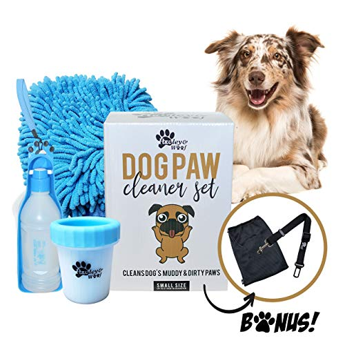 Dog Paw Washer - Paw Cleaner for Small Dogs, Dog...