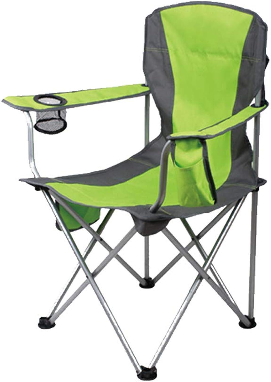 Chaise de camp pliante Bear Charge de charge 120kg Repos portatif Pêche en plein air Art Croquis Dossier Accoudoir Chaise Siège Avec Sac De RangeHommest (Couleur   B)