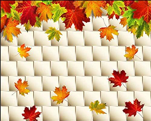 Wandtapete 3d Herbstlaub Maple Soft-Paket| Tapete | Wandbild | Wandbild | Bild | Fototapeten | Tapeten | Wandtapete | Wanddeko | Wandtapete | Abstrakt 3d-250cm×175cm