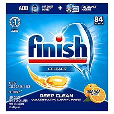 finish dishwasher gelpacs