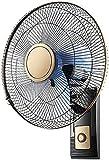 TANKKWEQ Ventilador de Pared oscilante, Ventilador de Pared oscilante, configuración de 3 velocidades, Ventilador de refrigeración por Aire y Silencio con Cabeza inclinable