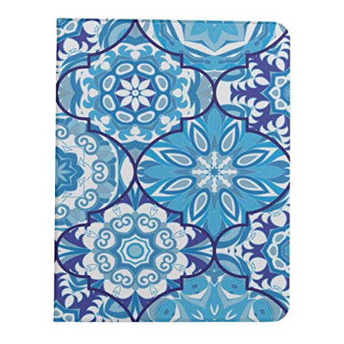 Ipad Pro 11 Case 2020&2018 Smart Ethnic Colorful Bohemian Blue Protective Cover for Ipad Pro 11[Support 2nd Gen Pencil Wireless Charging] Pad Pro 11 in Case Tablet Case with Auto Wake/Sleep