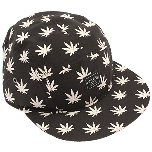 Cayler And Sons - Casquette 5 Panel Homme Budz And Stripes Cap - Black/White