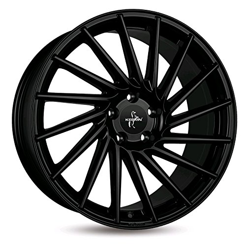 KESKIN KT17 MATT BLACK PAINTED 8,5x19 ET45 5.00x5x108 Hub Hole 72.60 mm - Alu felgen