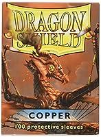 ドラゴンシールドスリーブ 100枚 銅カード(AT-10016)