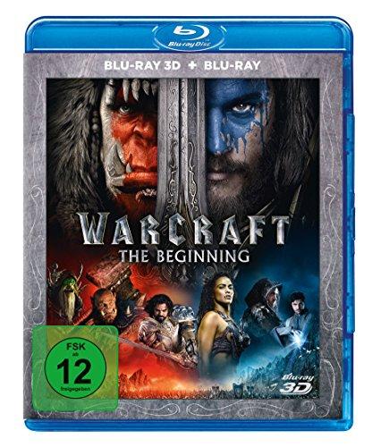 Warcraft: The Beginning [Blu ray 3D + Blu-ray]