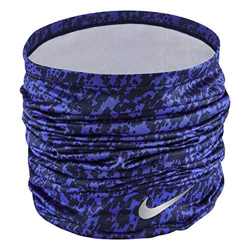 Nike Fascia Bandana Running Dri-Fit Wrap Multiuso Neckwarmer (Astronomy Blue/Silver)