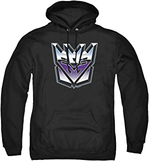 Transformers Decepticon Airbrush Logo Pullover Hoodie & Stickers