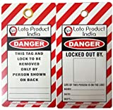 Loto Product India Lockout Tagout Danger Photo Tags - Set of 10