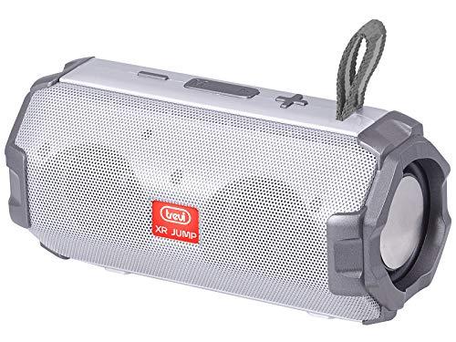 Trevi XR Jump XR 8A20 Altavoz Amplificado con MP3, USB, MicroSD, Bluetooth, función TWS, batería Recargable Gris