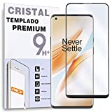 Protector de Pantalla Curvo para ONEPLUS 8 PRO - ONE PLUS 8 PRO, Negro, Cristal Vidrio Templado Premium, 3D / 4D / 5D
