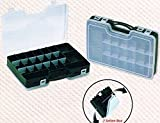 KANANA Plastikbox Angelbox Köderbox zubehörbox Angel Box TACKLEBOX für Fische, Zubehör, Modell...