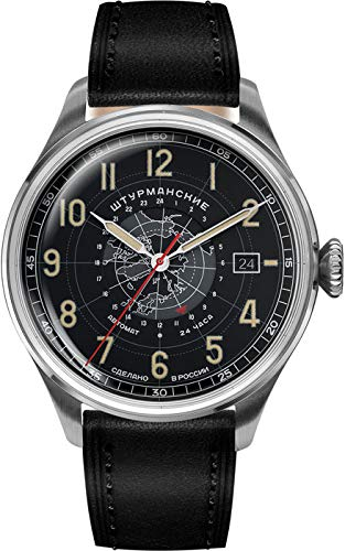 Sturmanskie 2432-6821355 Relojes Automáticos Relojes Mecánicos Relojes de Cuerda Manual