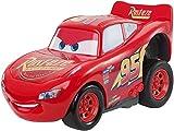 Cars ¡A todo gas! Vehículo Rayo McQueen, coche de juguete (Mattel DVD32)
